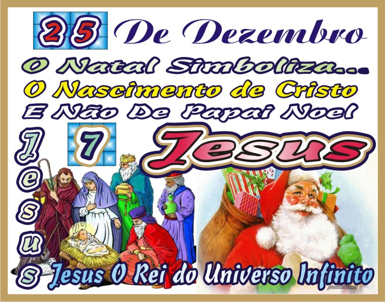 O Natal É O Nascimento de Jesus Cristo O Messias