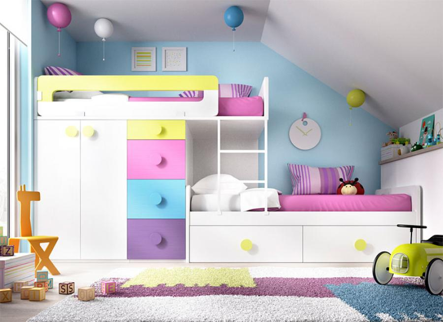 lit superpos s avec rangements forum chambres d 39 enfants marie claire. Black Bedroom Furniture Sets. Home Design Ideas