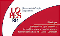 Cartão de Visita - Filipe Lopes