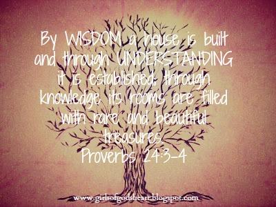 Girls of God's Heart: I Need Wisdom Please!