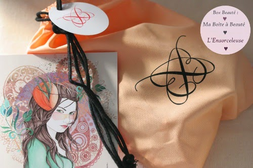 spoilers contenu et avis de la box beauté : ma boîte à beauté Octobre L'Ensorceleuse illustration Carla Cartagena