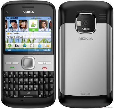 Spesifikasi Nokia E5 Qwerty Terbaru 2011