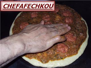 pizza à la viande hachée à ma façon