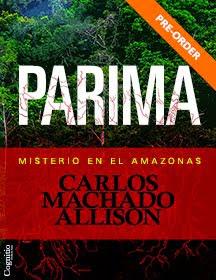 Nuevo libro: PARIMA: Misterio en el Amazonas