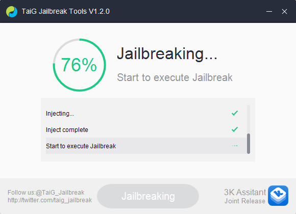 jailbreak in progress