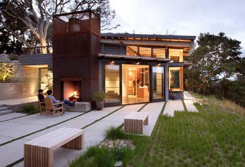 California Modern House Architecture