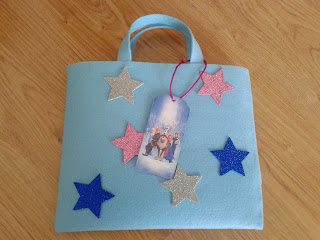 DIY Frozen art bag