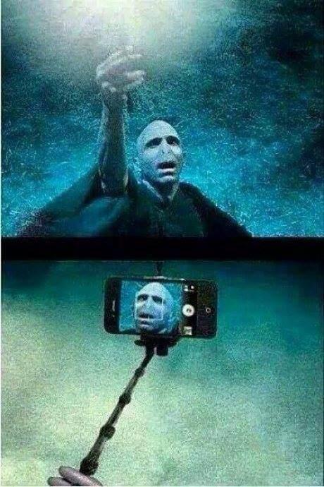 Selfie de Voldemort