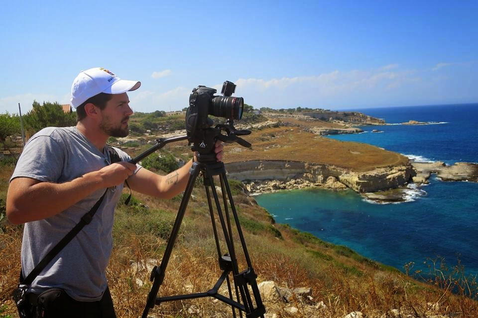 Filming the Aegean Sea