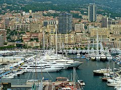 Yachts in Moncao by levork via Flickr and a Creative Commons license