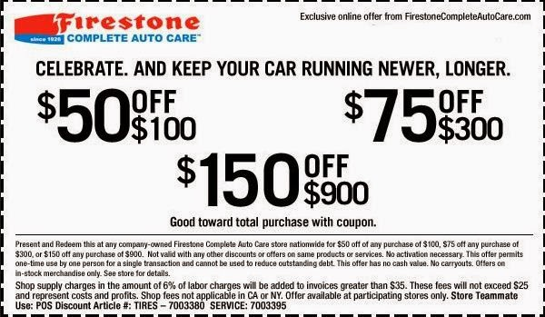 Firestone Coupons | Printable Coupons DB 2016
