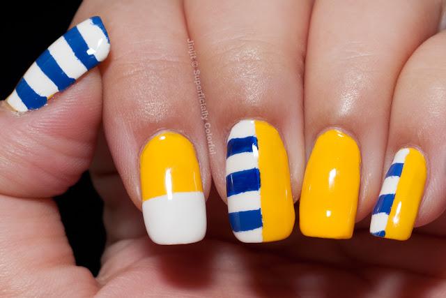 Ga-De Mellow Yellow Ga-De Moody Blue