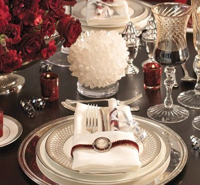 & Modern House Plans: 12 Easy and Elegant Christmas Table Settings