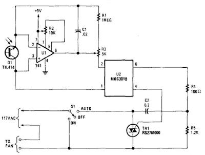 Fan Circuit Diagram