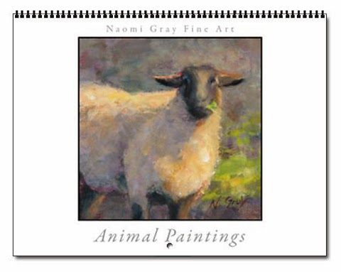 2014 Animal Art Calendar Available