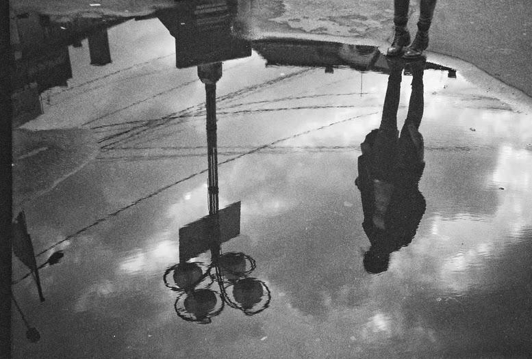 Smena 8M cluj-napoca ploaie puddle rain romania