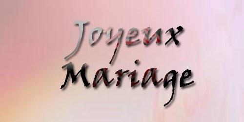 Mot joyeux anniversaire de mariage