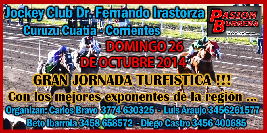 CURUZU CUATIA - 25 Y 26 DE OCTUBRE