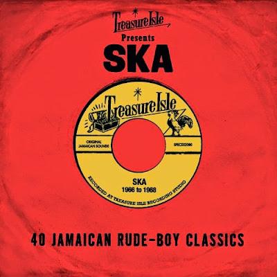TREASURE ISLE PRESENTS SKA - 40 Jamaican Rude-Boy Classics - 1966 to 1968