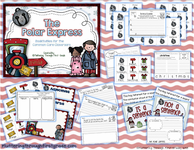 http://www.teacherspayteachers.com/Product/The-Polar-Express-Booktivities-for-the-Common-Core-Classroom-998268