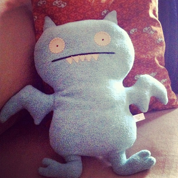 Icebat ice bat uglydoll ugly doll