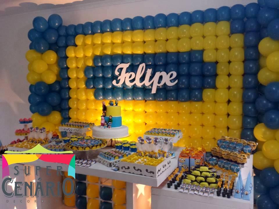 decoracao festa minions:Decoracao De Festa Dos Minions