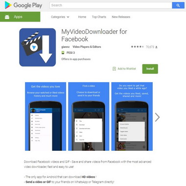 play google com - myvideodownloader for facebook