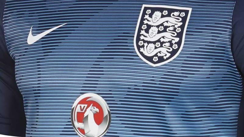Nueva camiseta Nike pre partido de la Selección de Inglaterra