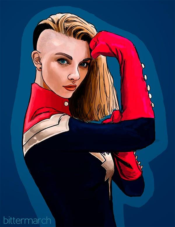Natalie Dormer Ms. Marvel