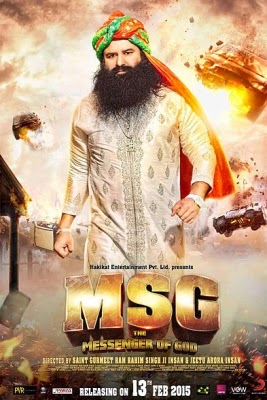 MSG The Messenger 2015 Hindi HDTV Rip 700mb
