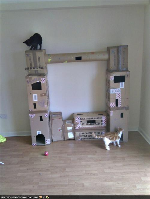 Adventures of a fiber addikt do it yourself cat tree for How to make a cat tower