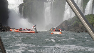 Iguazu Falls – Boat Trip – Their turn to get wet : ) Iguazu National Park, Argentina.