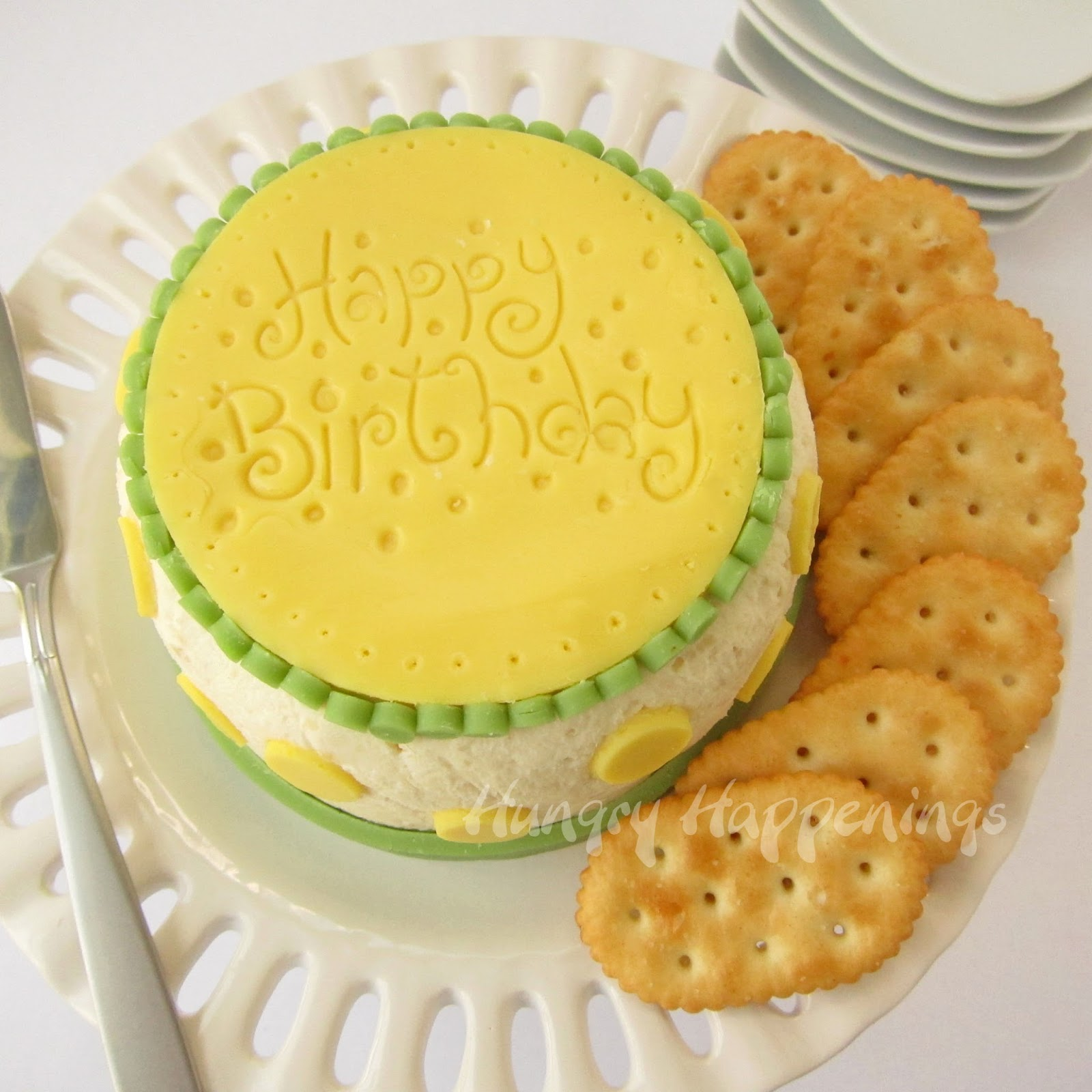 Cheese Ball Birthday Cake Is A Perfect Appetizer For An
