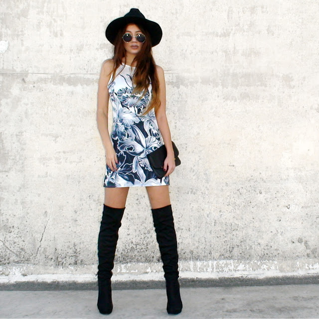 over the knee boots outfit ideas pinterest