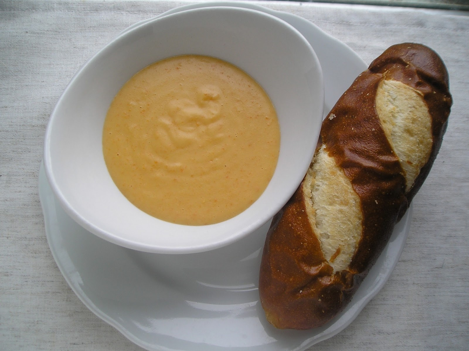 Beer Cheese Soup and Some News ~ Edesia's Notebook