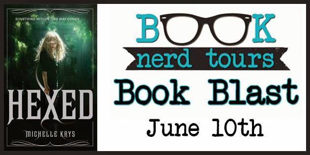 http://www.booknerdtours.com/2014/book-blast-hexed-by-michelle-krys-release-day-celebration.html