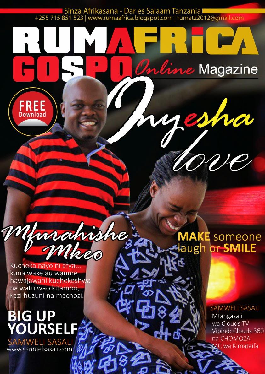SAMWELI SASALI NDANI YA RUMAFRICA GOSPO Online MAGAZINE