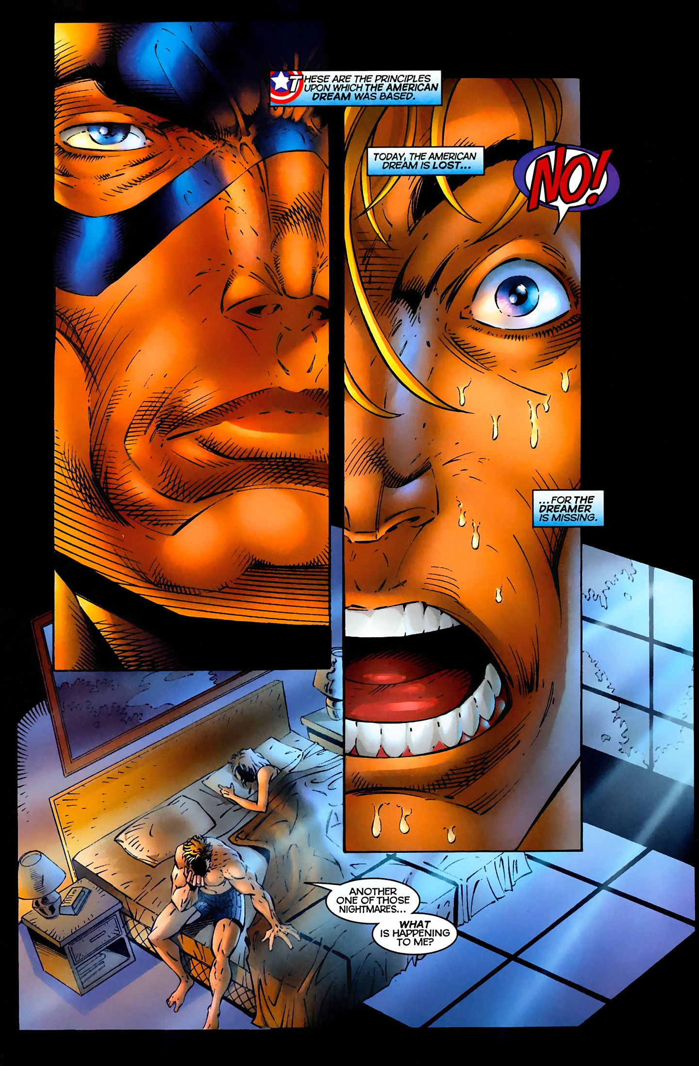 Captain America (1996) Issue #1 #1 - English 6