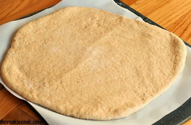 Whole Wheat Bread Machine Pizza Dough ~ Easy, healthy, and effortless