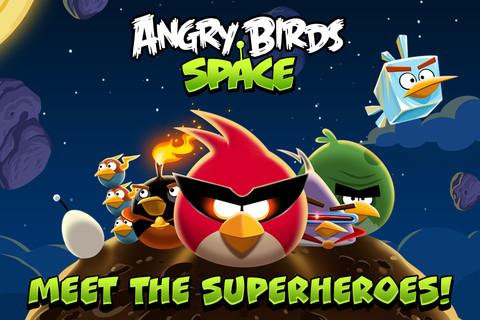 لعبة الطيور الغاضبة Angry Birds Space