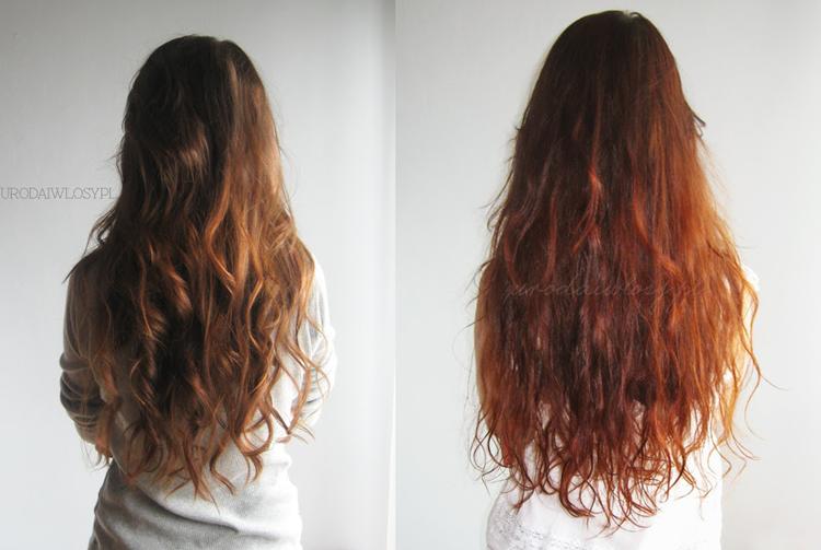metamorfoza włosów, włosy przed i po