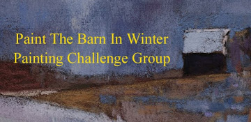 Paint the Barn in Winter Painting Challenge