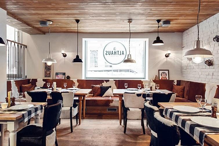 un mix genial de elementos rsticos en un estilo fresco y moderno perfecto para degustar una cocina tpica bvara os apuntis al althaus