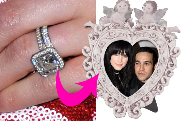 Superb Ashlee Simpson Wedding Ring