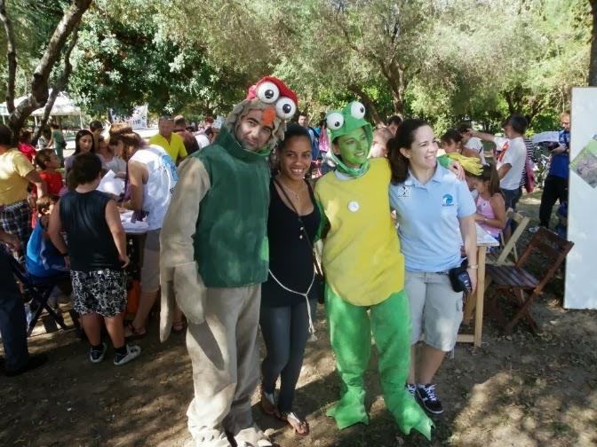 Celebración del Día de las Aves 2012 en el Parque del Alamillo. SEO-Sevilla