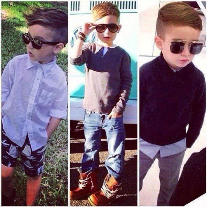 moda infantil hipster