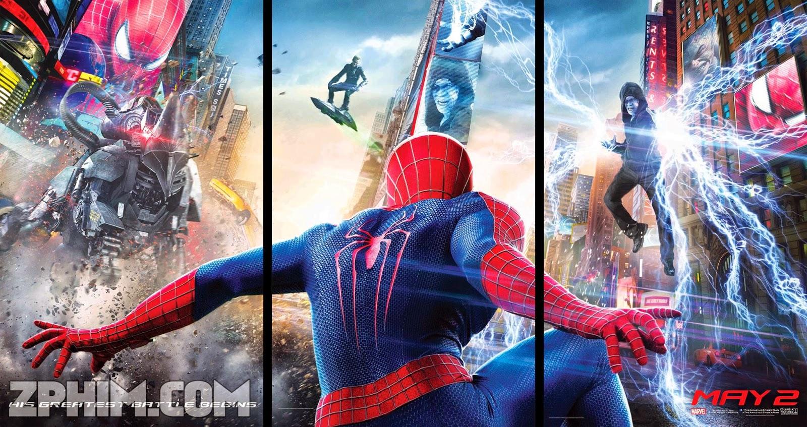 Ảnh trong phim Người Nhện Siêu Đẳng 2 - The Amazing Spider-Man 2: Rise of Electro 1