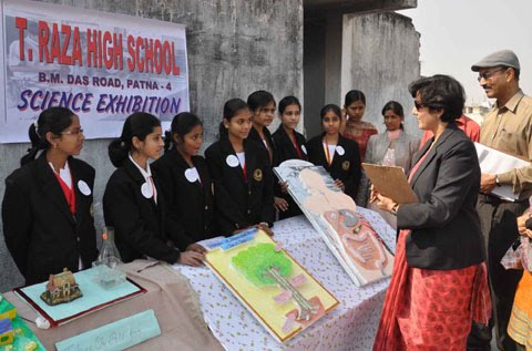 Science Exhibition held at T Raza High School