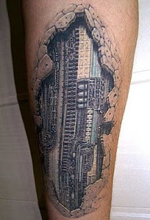 Realistic 3D Style Tattoo Design Collection