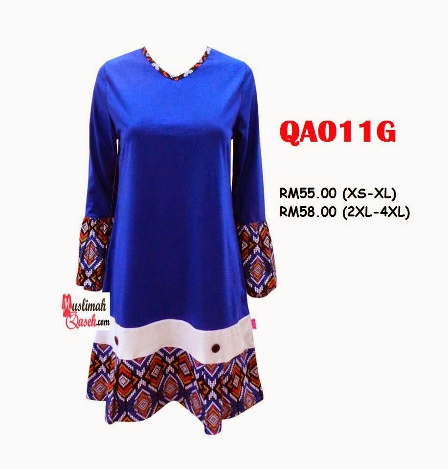 T-Shirt-Muslimah-Qaseh-QA011G